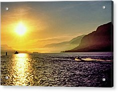 Columbia River 001 Acrylic Print by Scott McAllister