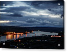 Acrylic Print featuring the photograph Columbia River by Cat Connor