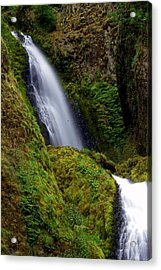 Columbia River Gorge Falls 1 Acrylic Print by Marty Koch