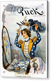 Columbia S Easter Bonnet - Vintage 1901 Acrylic Print