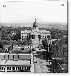 Columbia South Carolina - State Capitol Building - C 1905 Acrylic Print by International  Images