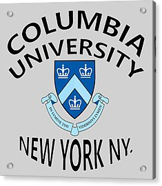Columbia University New York Acrylic Print