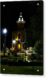 Columbiana Cty Courthouse Acrylic Print by Michelle Joseph-Long