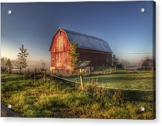 0009 - Columbiaville Red I Acrylic Print