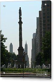Columbus Circle New York City Acrylic Print