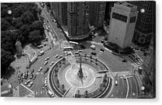 Columbus Circle Nyc C.2005 Acrylic Print