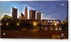 Acrylic Print featuring the digital art Columbus Night 1517 by Brian Gryphon