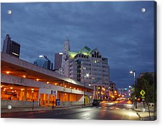 Columbus Night 50145 Acrylic Print