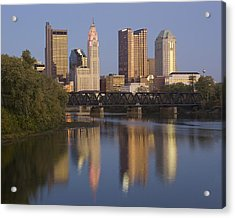 Columbus Ohio Evening Acrylic Print