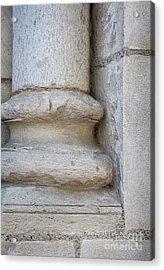 Column Plinth Acrylic Print by Elena Elisseeva