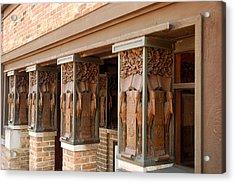 Columns At Frank Lloyd Wright Studio Acrylic Print