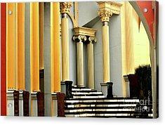 Columns At Plaza De Italia Acrylic Print