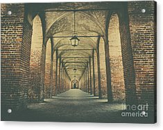 Columns In Sabbionetta, Italy Acrylic Print