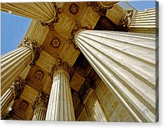 Columns. Supreme Court Acrylic Print