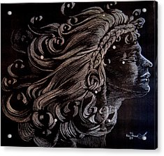 Coma Berenices Acrylic Print by Eric Hausel
