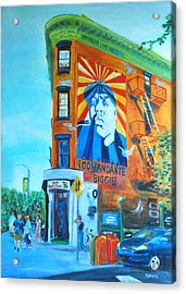 Comandante Biggie Acrylic Print by Wayne Pearce