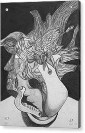 Combination Study Acrylic Print by Dan Fluet