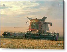 Combine In Dust Acrylic Print by Todd Klassy