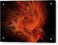 Combustion Acrylic Print