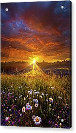 Come Again Another Day Acrylic Print by Phil Koch