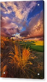 Come Dance With The West Wind Acrylic Print by Phil Koch