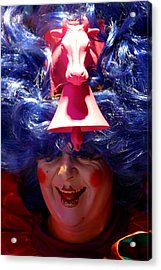Come Into My Parlour Acrylic Print by Jez C Self