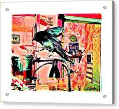 Crow Dance Acrylic Print