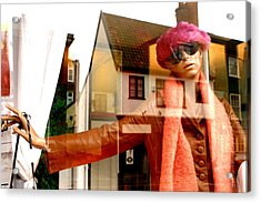 Come On Into My World Acrylic Print by Jez C Self