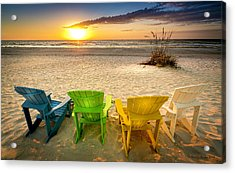 Come Relax Enjoy Acrylic Print by Marvin Spates