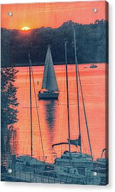 Come Sail Away Acrylic Print