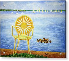 Come, Sit Here Acrylic Print