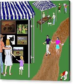Come To The Fair Acrylic Print by Carole Boyd