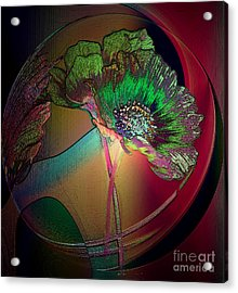 Comely Cosmos Acrylic Print by Irma BACKELANT GALLERIES