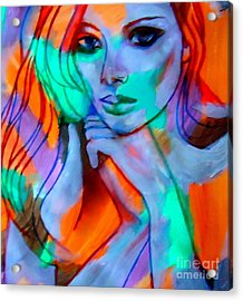 Comely Acrylic Print