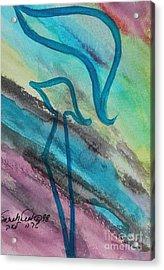 Comely Kuf Acrylic Print