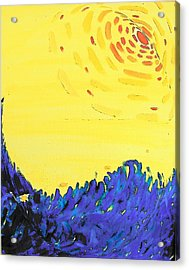 Acrylic Print featuring the painting Comet by Lenore Senior