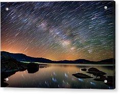 Comet Storm - Colorado Acrylic Print by Darren White
