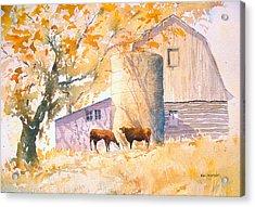 Comfortable-autumn Acrylic Print