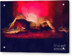 Comfortably Numb Acrylic Print by Exposed Arts