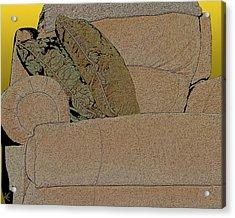 Comfy Chair Acrylic Print