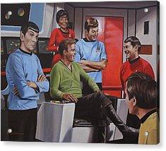 Comic Relief Acrylic Print by Kim Lockman