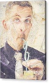 Comic Soda Poster Acrylic Print by Jorgo Photography - Wall Art Gallery