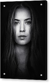 Coming From The Dark Acrylic Print