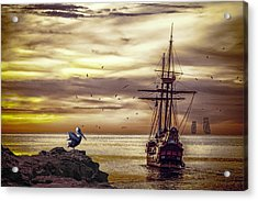 Acrylic Print featuring the photograph Coming Home by Diane Schuster