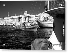 Coming Home In Marseille Acrylic Print by John Rizzuto