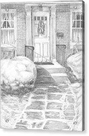 Coming Home Acrylic Print by Marlene Chapin
