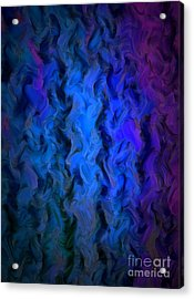 Coming Out Of The Dark Acrylic Print by Krissy Katsimbras