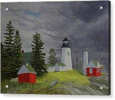 Coming Storm Acrylic Print
