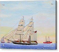 Coming To America - 1872 Acrylic Print