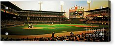 Acrylic Print featuring the photograph Comiskey Park  by Tom Jelen